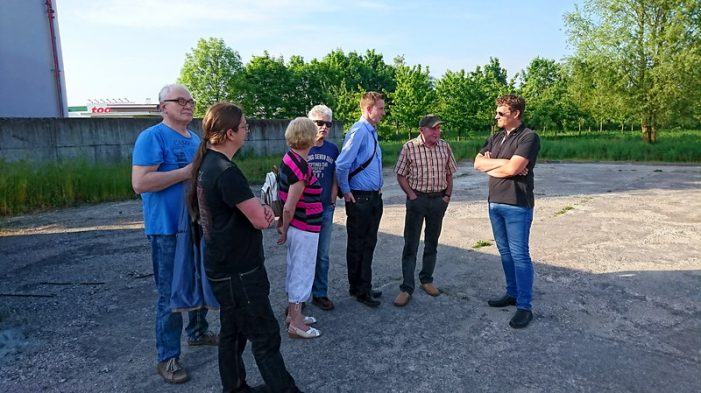 Arbeitskreis Wirtschaft der Linksfraktion informiert sich zu Geothermie-Vorhaben in Lankow