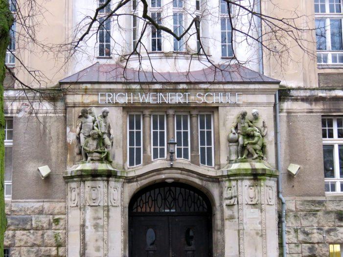 Baubeginn an der Erich-Weinert-Schule