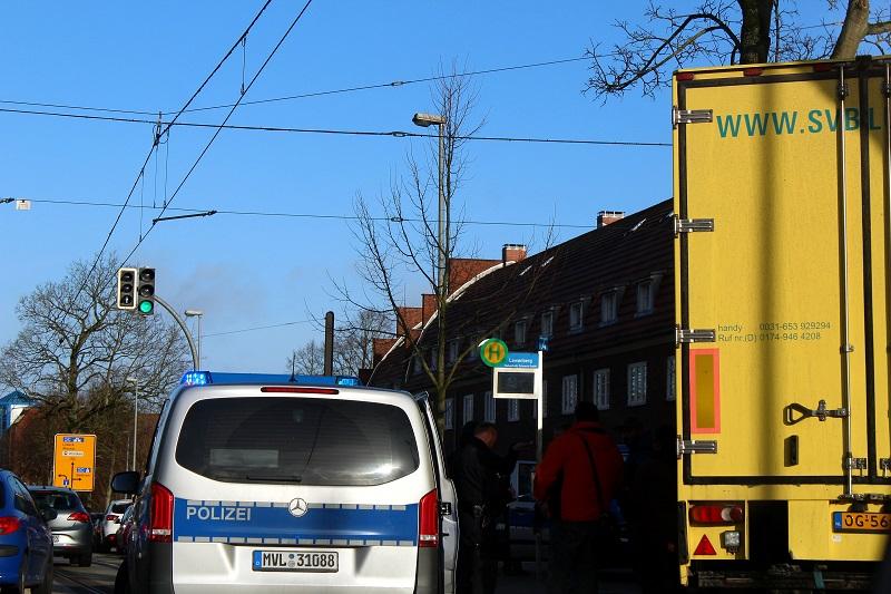 Polizeieinsatz Schwerin
