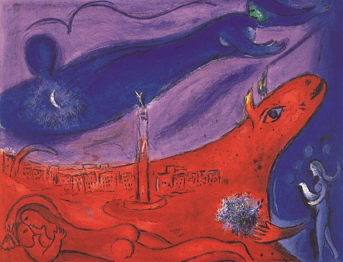 Große Sommerausstellung zeigt Marc Chagalls Farbenpracht