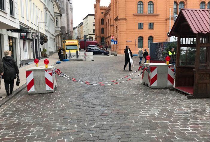 Schweriner Weihnachtsmarkt: Sicherheit wurde diesmal erhöht