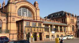 Verfassungsfeindliche Parolen am Hauptbahnhof Schwerin