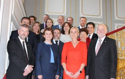 Europäische Verantwortliche im Strafvollzug beraten in Schwerin über gemeinsame Standards