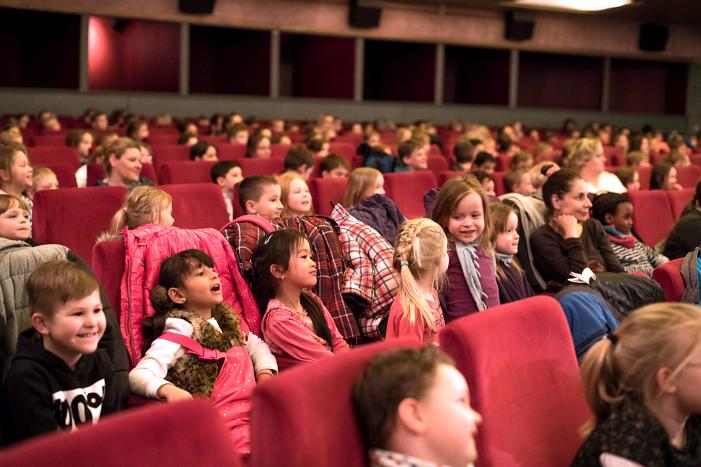 Im Kinosaal für gute Stimmung gesorgt