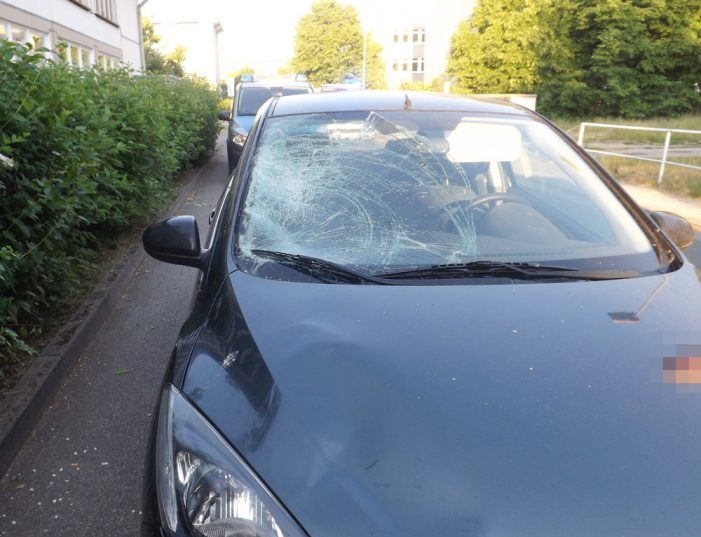 Schwerer Verkehrsunfall in der Werkstraße