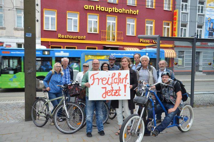 Neugegründete Bürgerinitiative fordert kostenfreien Nahverkehr