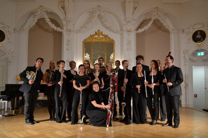 Konzert der Mecklenburgischen Bläserakademie in Rostock