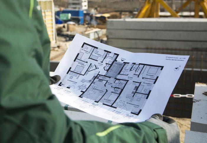 Das Baujahr in Schwerin: 222 Wohnungen neu gebaut