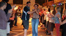 Freilichtmuseum Mueß: Sommertanz auf Bauernhausdiele