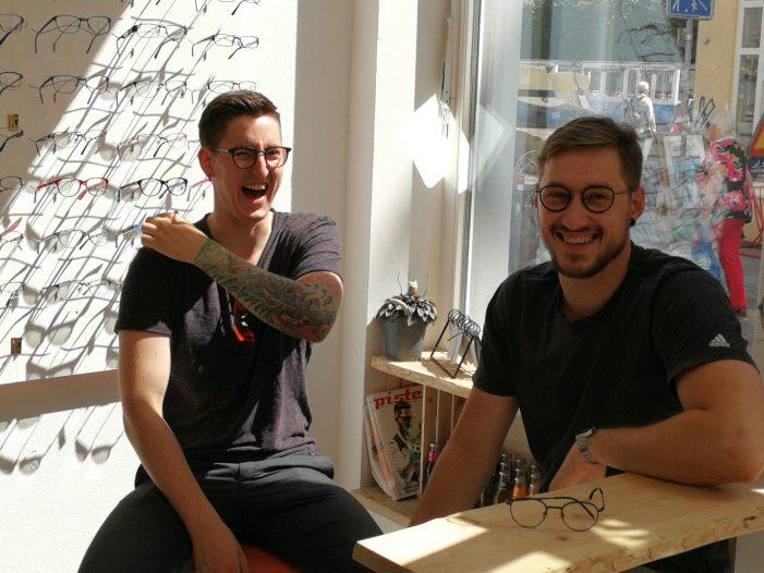 Zwei junge Optiker gehen eigene Wege: Das Besondere gibt's bei Plusminus