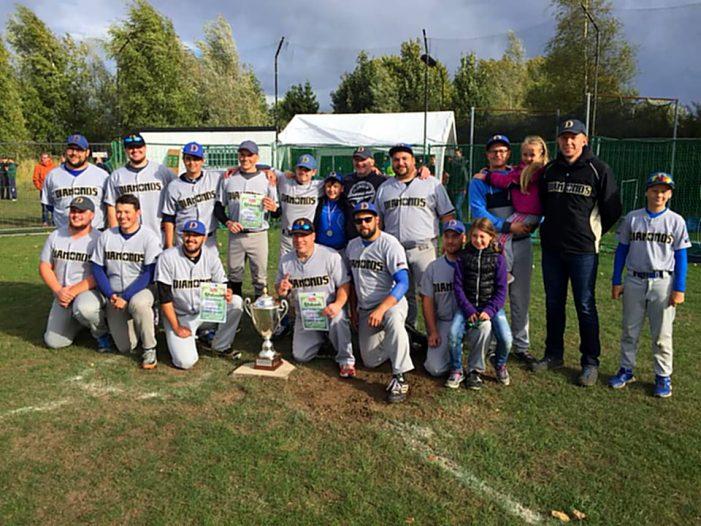 Baseball: Diamonds sind erstmals Landesmeister
