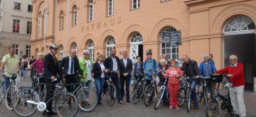 Aktion STADTRADELN mit neuem Kilometerrekord