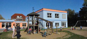 Erweiterungsbau der Kita Reggio Emilia in Friedrichsthal feierlich übergeben