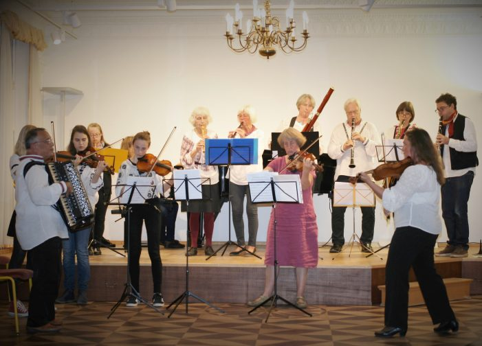Jubiläumsveranstaltung 10 Jahre KONcondois am Konservatorium Schwerin