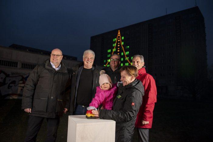 Größter Adventskalender Schwerins