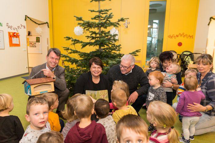 """""""Waldmäuse"""" freuen sich über Vogelhaus"""