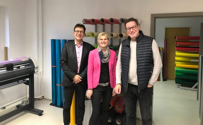 Unternehmensbesuch bei MARTHDESIGN in Schwerin Süd