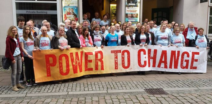 "Wieviel ""Power to Change"" hat Schwerin?"