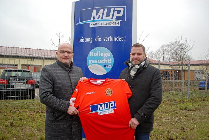 FC Mecklenburg Schwerin stellt neuen Hauptsponsor vor